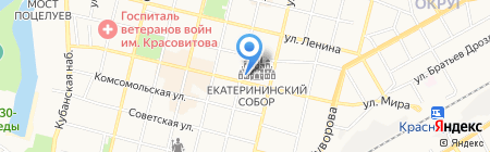 Комтеплор на карте Краснодара