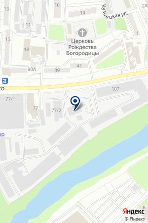ПРОИЗВОДСТВЕННАЯ КОМПАНИЯ ЛУЧ на карте Орехово-Зуево