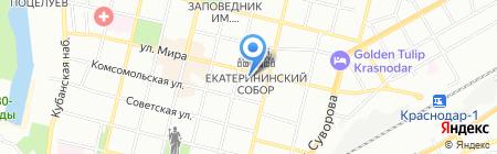 Агентство праздников и развлечений Елены Рыбкиной на карте Краснодара