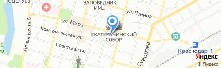 Богема на карте Краснодара