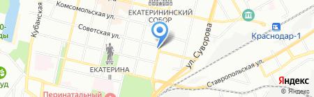 Семейная аптека на карте Краснодара