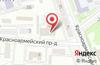 Схема проезда до компании Катрал в Орехово-Зуево