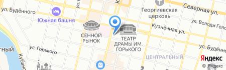 Банкомат КБ Кубанский универсальный банк на карте Краснодара