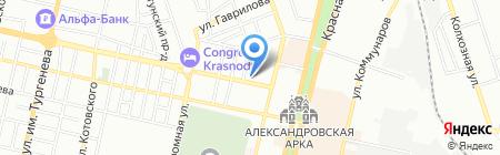 Банкомат Гута-Банк на карте Краснодара