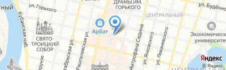Нордвест на карте Краснодара