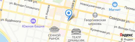 Конкордия на карте Краснодара