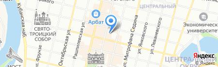 Эврика на карте Краснодара