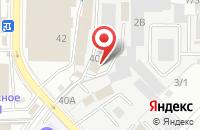 Схема проезда до компании Авангард в Краснодаре