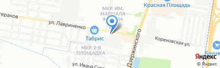 АНБ-Групп на карте Краснодара