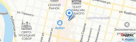 Мебель-М на карте Краснодара