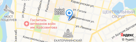 Альпика на карте Краснодара