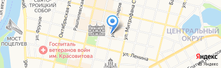 Профи-Кубань на карте Краснодара