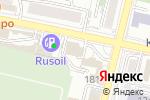 Схема проезда до компании FirstBrowBar в Краснодаре