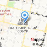 Адвокатский кабинет Кондауровой Е.А. на карте Краснодара