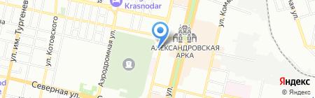 Интерсофт на карте Краснодара