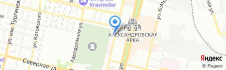 Стройподряд на карте Краснодара