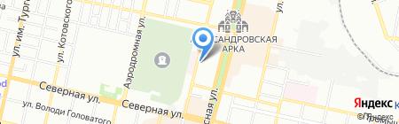 Tui на карте Краснодара