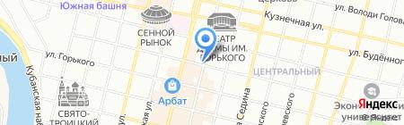 Vogue на карте Краснодара