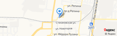100% МЕБЕЛЬ на карте Краснодара
