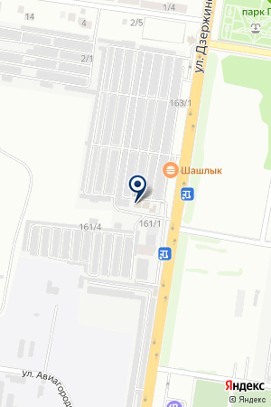 АвтоМастер на карте Краснодара