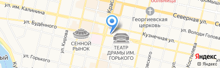 Благодать Строй на карте Краснодара