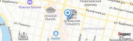 Арт-Макс на карте Краснодара