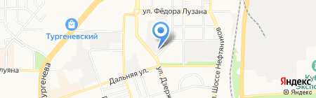 Магазин автозапчастей для УАЗ на карте Краснодара