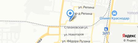 Rif-N на карте Краснодара