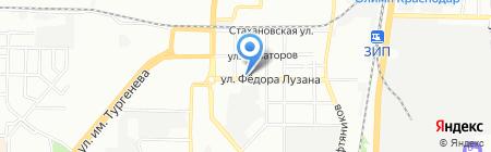 ИнтерФарм на карте Краснодара