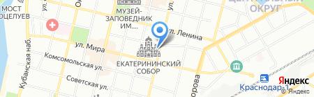 Sony Centre на карте Краснодара
