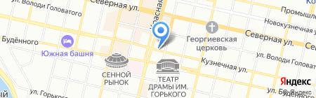 Вегас-Лекс на карте Краснодара