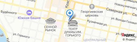 Мегаполис на карте Краснодара