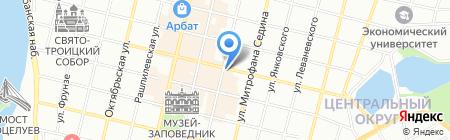 Рестарт на карте Краснодара