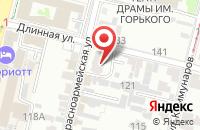 Схема проезда до компании GuRu Group в Краснодаре
