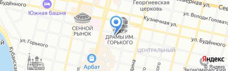 FreeДом на карте Краснодара