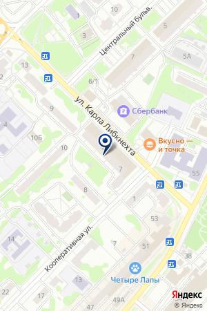 МАГАЗИН КУЛЬТТОВАРЫ на карте Орехово-Зуево