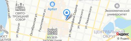 АКБ Авангард Банк на карте Краснодара