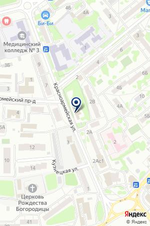 АВТОСЕРВИСНОЕ ПРЕДПРИЯТИЕ БЕРК на карте Орехово-Зуево