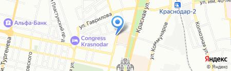 Согласие на карте Краснодара