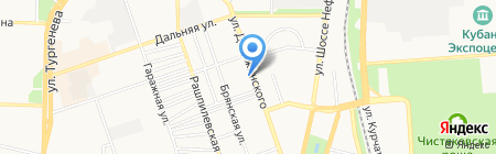 Print-Service на карте Краснодара