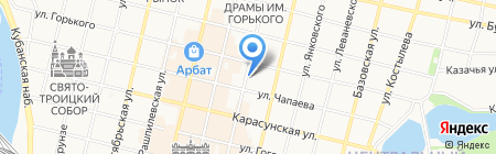 Климат-Юг-Сервис на карте Краснодара
