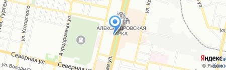 Банкомат Банк Первомайский на карте Краснодара