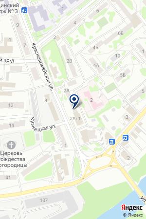 СЛУЖБА ТАКСИ МЕДВЕДЕВ С.В. на карте Орехово-Зуево
