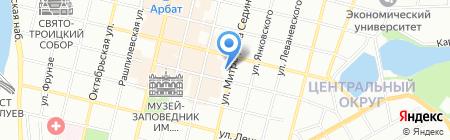 Детский сад №15 на карте Краснодара