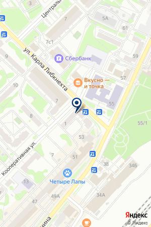 МАГАЗИН МЯСНОЙ ПРОДУКЦИИ ОРЕХОВО-ЗУЕВСКИЙ МЯСОКОМБИНАТ на карте Орехово-Зуево