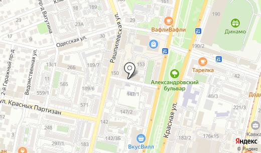 Юг-Игрушка. Схема проезда в Краснодаре
