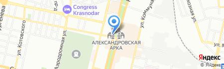 КОМТЕЛ связь строй на карте Краснодара