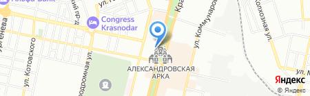 Кубань-Геоцентр на карте Краснодара