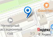 Ленинский районный суд на карте