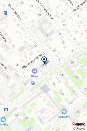 ДЕТСКИЙ САД РУЧЕЕК на карте Орехово-Зуево